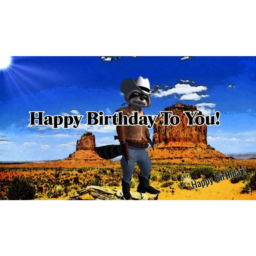"""Happy Birthday to You (Country)"" Persönliches Geburtstagsvideo"