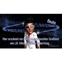 """Happy Birthday to You (Elvis)"" Geburtstagslied u. Video mit eigenen Namen"