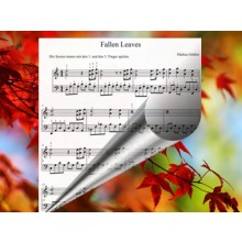 Fallen Leaves - Klavierballade modern(Noten+Playback Download)
