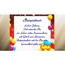 """Happy Birthday to You"" (Original Klarinette) Persönliches Geburtstagsvideo"
