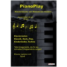 PianoPlay - Klaviernoten Klassik, Rock, Pop, Kinderlieder, Techno