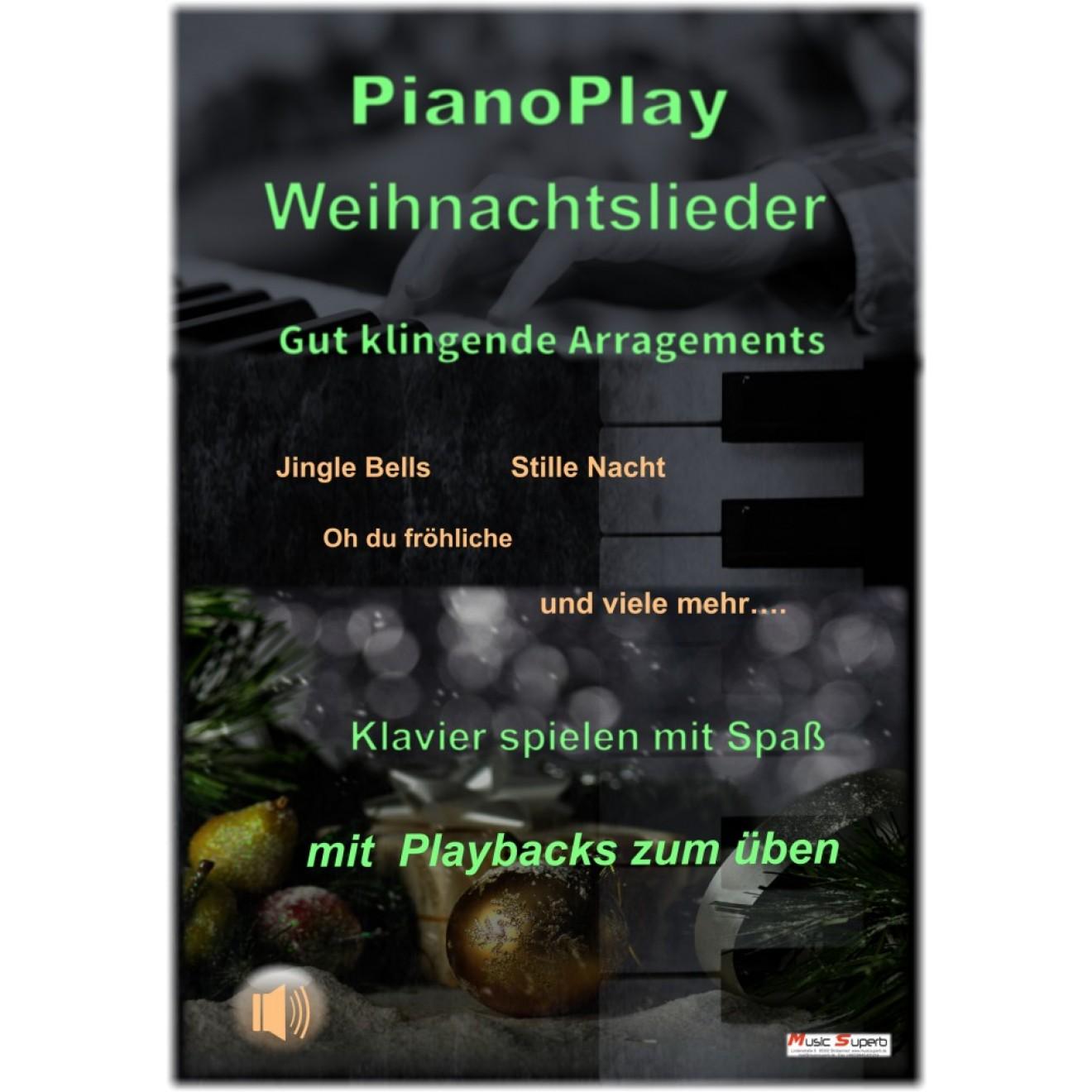 piano powerplay weihnachtslieder f r klavier. Black Bedroom Furniture Sets. Home Design Ideas